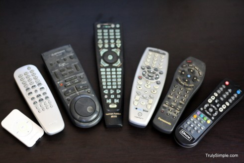 all my remotes