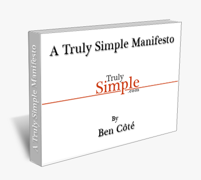 TrulySimpleManifesto